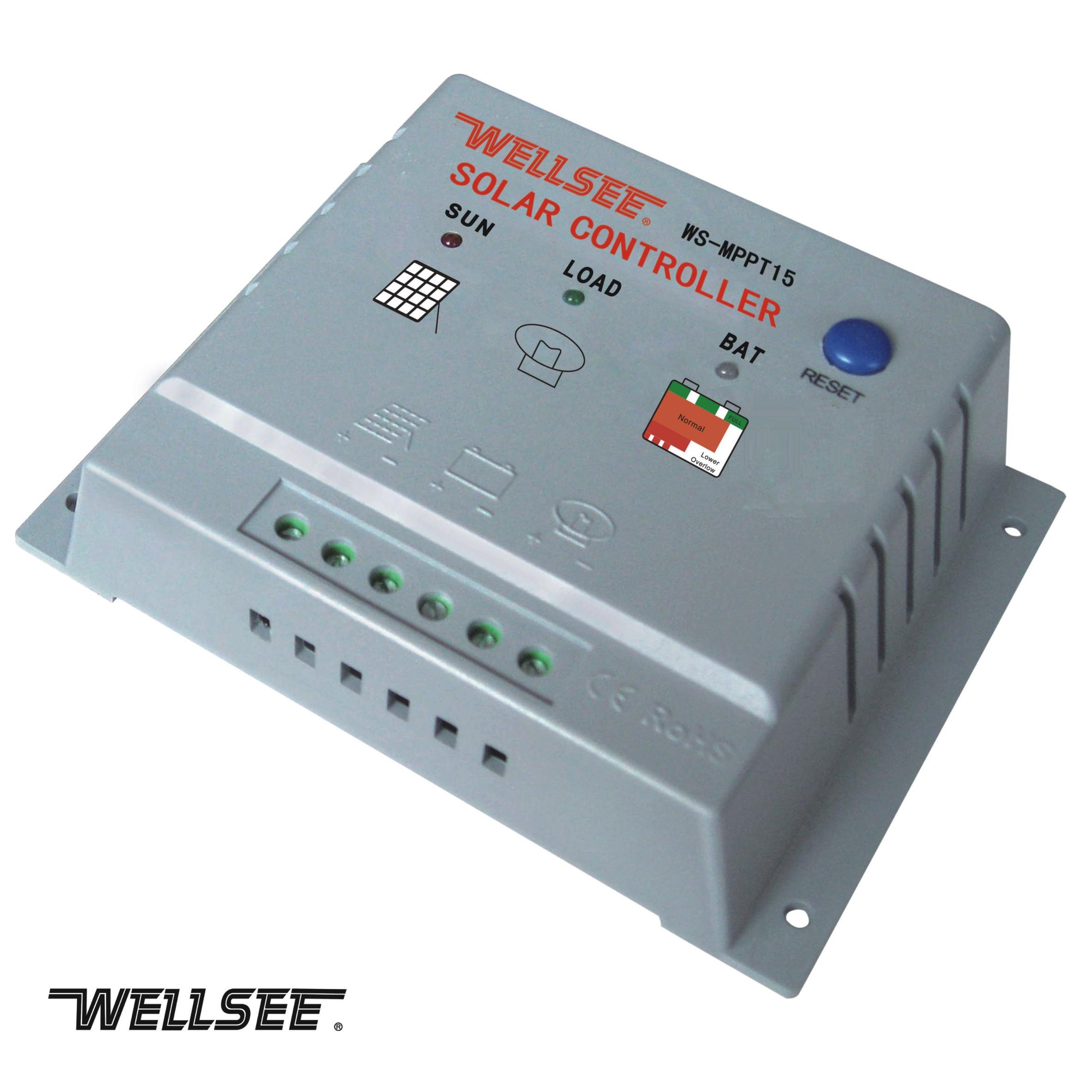 能充电控制器(太阳能控制器)应用于太阳能光伏系统中